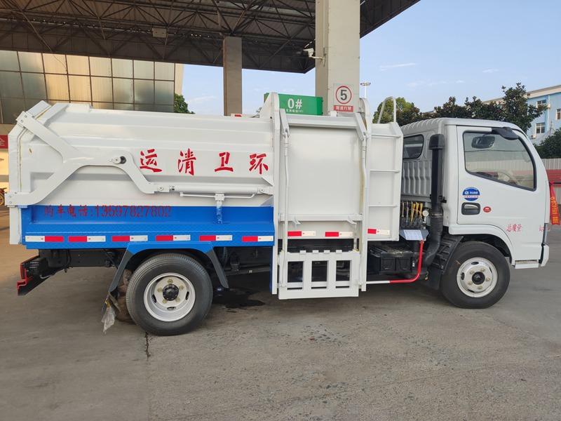 内蒙古海拉尔张总来厂自提挂桶垃圾车(图2)