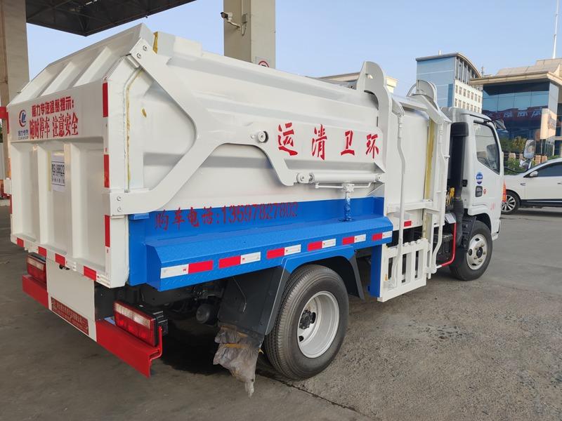 内蒙古海拉尔张总来厂自提挂桶垃圾车(图3)