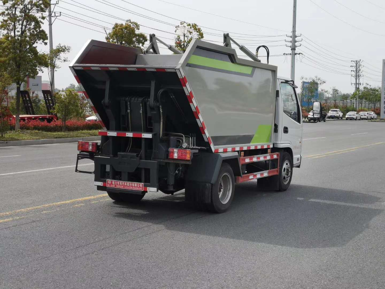 垃圾清运车,轻松解决环卫小区公园城乡垃圾运输(图5)