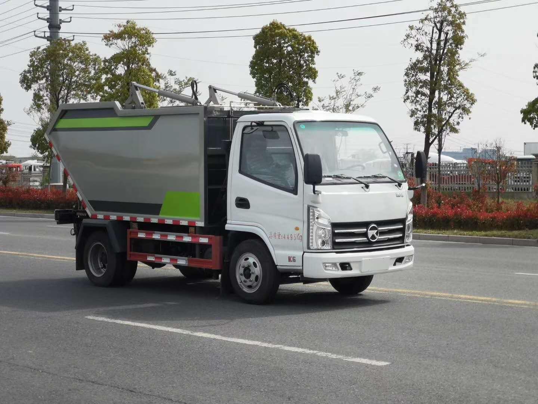 垃圾清运车,轻松解决环卫小区公园城乡垃圾运输(图4)