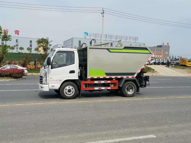垃圾清运车,轻松解决环卫小区公园城乡垃圾运输(图3)